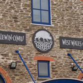 Plaques for West Wales Craft Center