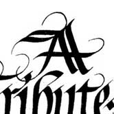 Flowing calligraphy design. Click to view.