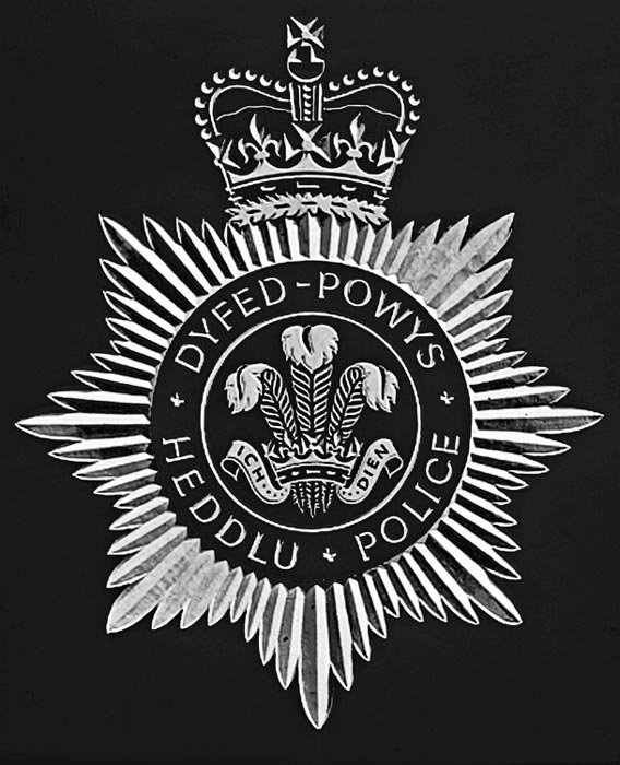 Dyfed Powys Police Coat of Arms.