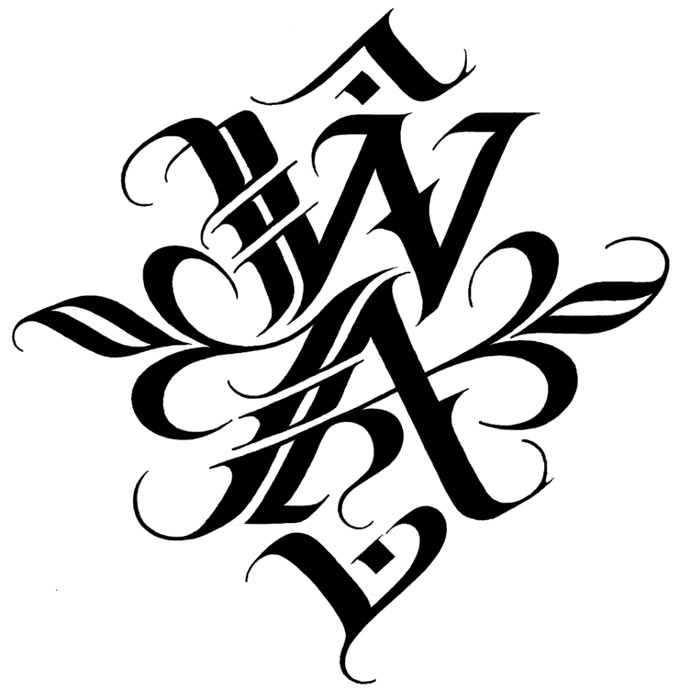 Calligraphy Logo Design.