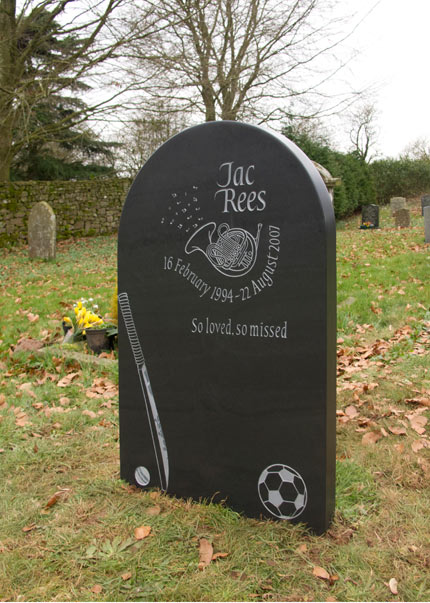 Simple and Dignified Headstone